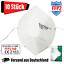 Indexbild 1 - 10x FFP2 Maske 5-lagig zertifiziert Atemschutz Mundschutz Masken Gesichtsschutz