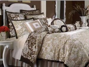 Image Is Loading Nip Rose Tree 4pc King Comforter Set 039