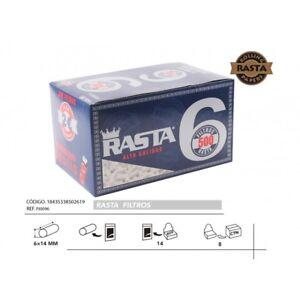 7000-Filtros-RASTA-SLIM-6-mm-14-bolsas-500-filtros-por-bolsa-mechero