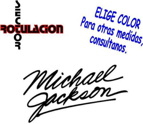 ref1592 Michael Jackson Music Pop ROCK BAND PEGATINA VINILO STICKER ADHESIVO