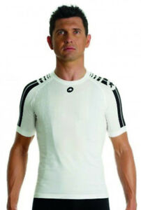 Assos-Summer-SkinFoil-Unisex-Short-Sleeve-Bike-Base-Layer-White