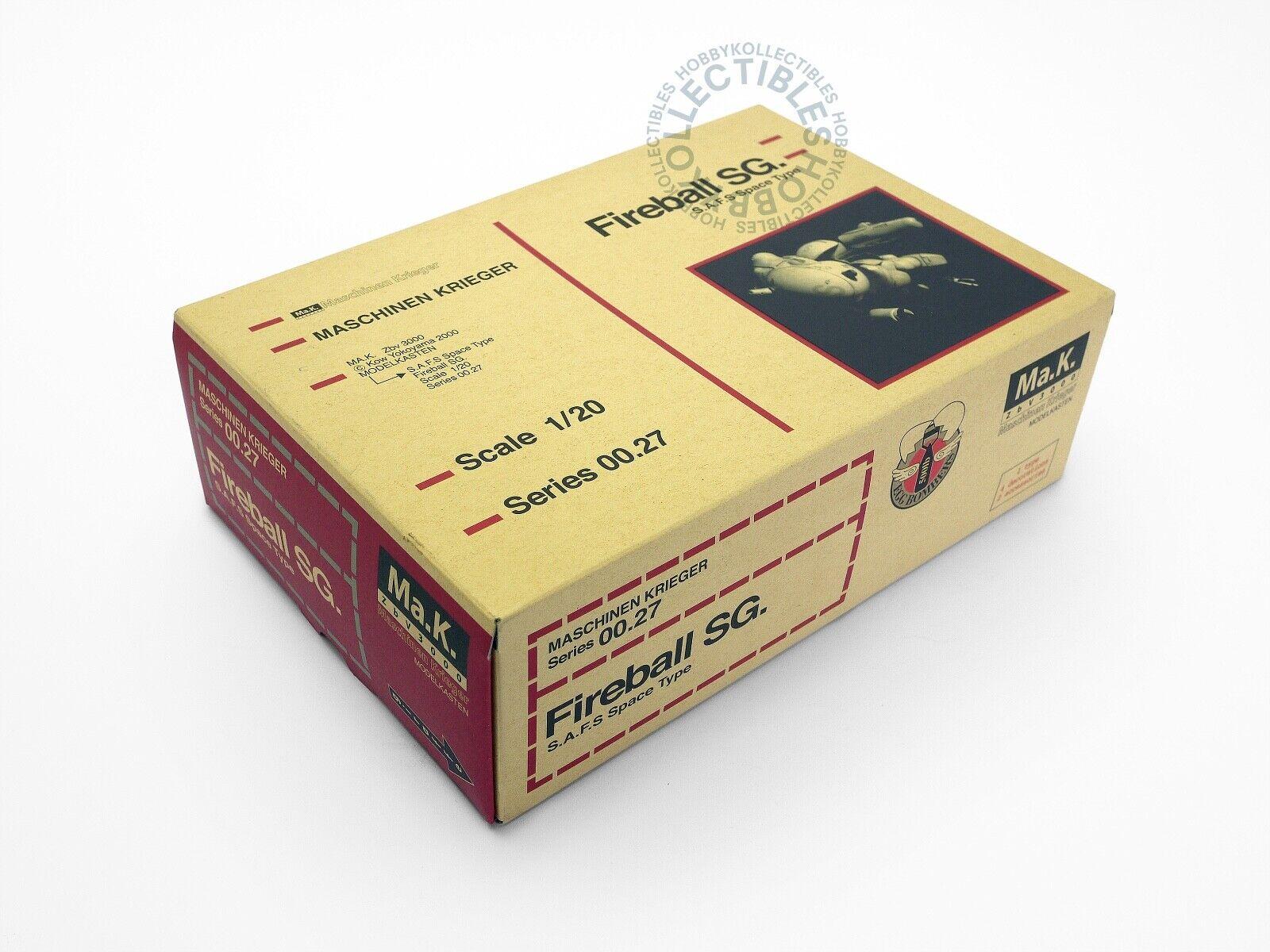 Ma.K modellllerlerkasten Nitto (SF3D)  20 SAFS Fireboll SG hkonsts  Plastic modellllerler (2)