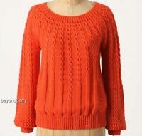 Anthropologie Guinevere Purl-wise Pullover Size S-m-l
