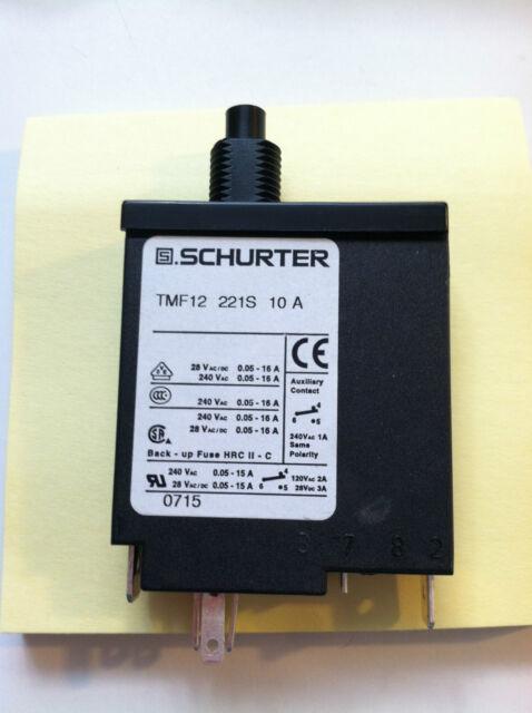 2 Free Ship E-T-A 1658-621-00-P10-20A Circuit Breaker 20A 240VAC 28VDC NEW!!