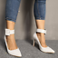 Womens-Pointed-Toe-Ankle-Strap-Party-Evening-Plus-Stiletto-High-Heel-Pump-Shoes thumbnail 7
