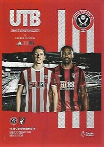 Sheffield-United-v-Bournemouth-9th-February-2020-Match-Programme-2019-2020