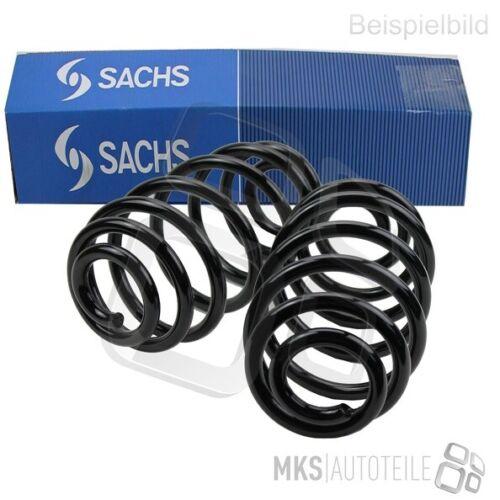 2 x Sachs Telaio Molla Spirale Set Anteriore Lancia 3859028