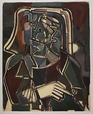 Walter GUTBROD (Zuffenhausen 1908-98 Ludwigsburg) - astratto Portrait (20)