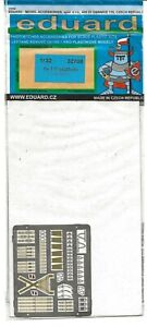 Eduard He-111 Color Etch Seatbelt Upgrades in 1/32 708, For Revell Kit  ST