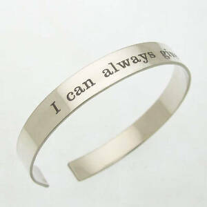 Image Is Loading Id Bracelet Engraved Mens Cuff Father 039 S