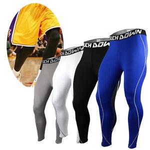 Men-039-s-Touch-Down-Mens-COMPRESSION-Under-Pants-Fitness-Jogging-Sport-Leggings