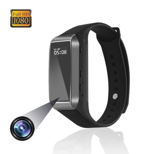 Full HD 1080P Sport Camera Smart Bracelet Audio Video Recorder Mini DV Camera