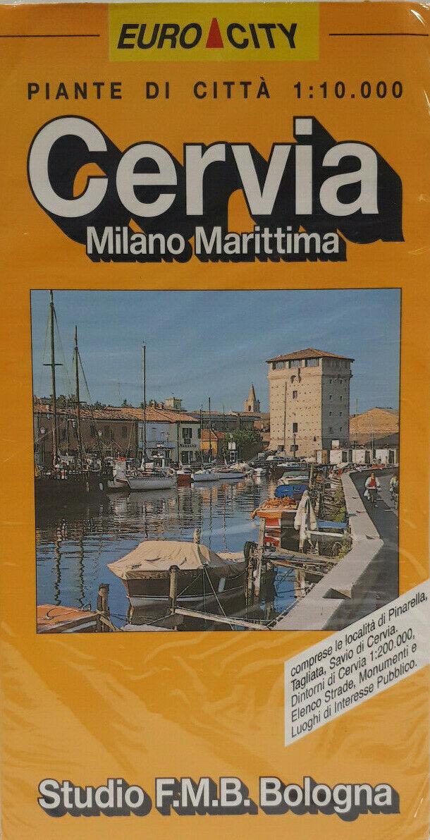 Milano Marittima Cartina Italia.Mappa Di Cervia Milano Marittima Cartina Pianta Citta F M B Acquisti Online Su Ebay