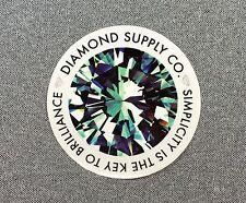 Diamond Supply Co Simplicity Is The Key Skateboard Sticker 3.5in si
