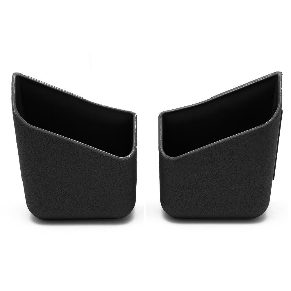 2X Universal Car Auto Accessories Glasses Organizer Storage Box Holder Black 4