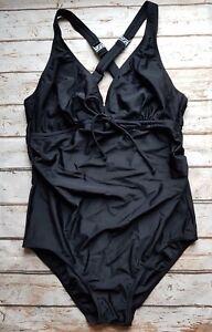 57e4cf3ae2 Image is loading New-Mamalicious-Maternity-Josefine-Swimsuit-in-Black- Swimwear
