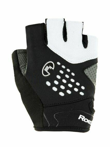 Roeckl inovo bicicleta guantes corto negro blancoo 2019