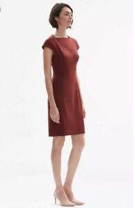 Carriera Ashley Dress Xl Mm Sheath Brick Work Taglia The Red Lafleur Nwt 14 R7pCx