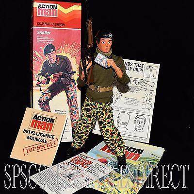 ☆ VAM Palitoy Action Man ☆ Boxed Pristine Unused Combat Soldier c1978-84 M.I.B ☆