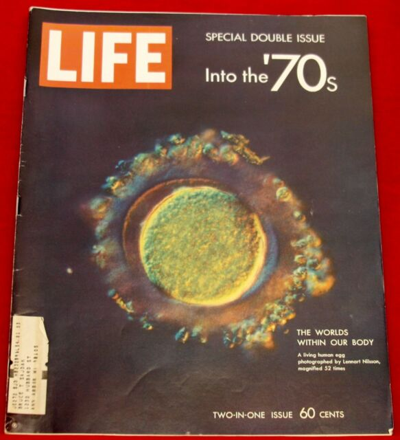 Life Magazine January 9, 1970 Ads Cadillac and Coke Near Mint Condition