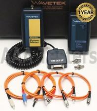 Ideal Wavetek Fiber Optic Fiberkitmm 4 Lt8155 Amp Lt8600 Cable Tester