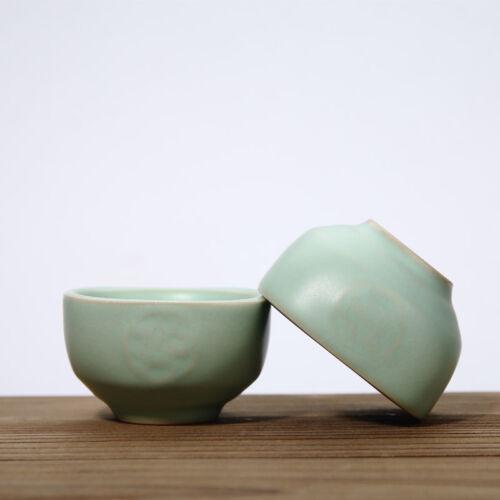 tea cup ruyao craft ceramic porcelain cup of tea chinese kung fu tea set cups