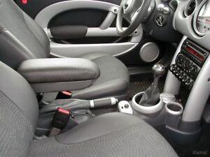 Comfort Armlehne / Mittelarmlehne Leder schwarz Audi A2