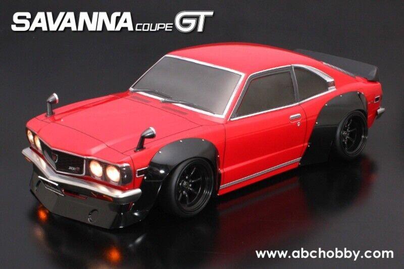ABC-HOBBY MAZDA SAVANNA Coupe  GT autorozzeria-Set 1 10 200mm (66160)  ordina ora i prezzi più bassi