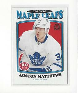 2016-17-O-Pee-Chee-Retro-694-Auston-Matthews-RC-Rookie-Maple-Leafs