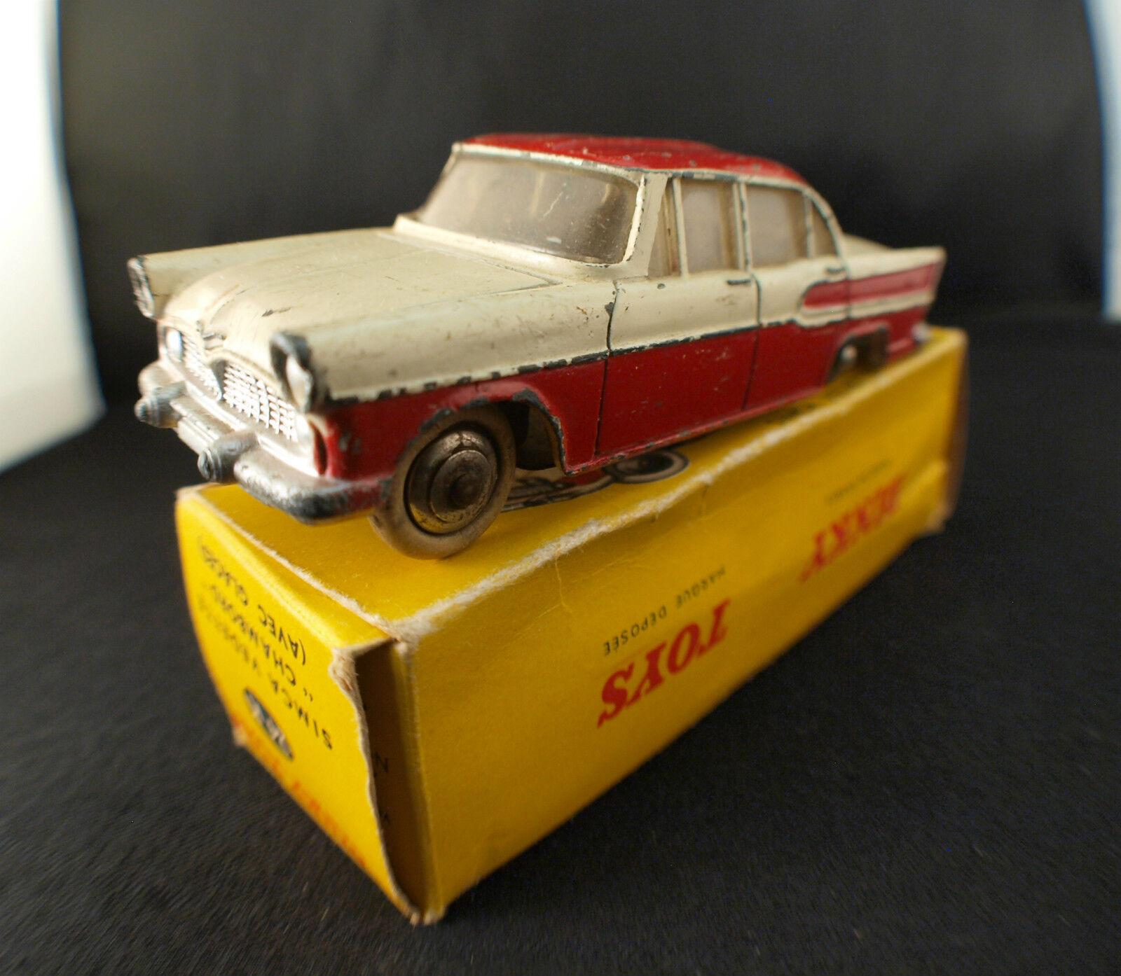 Dinky Toys F 24 K Simca vedette Chambord en boîte