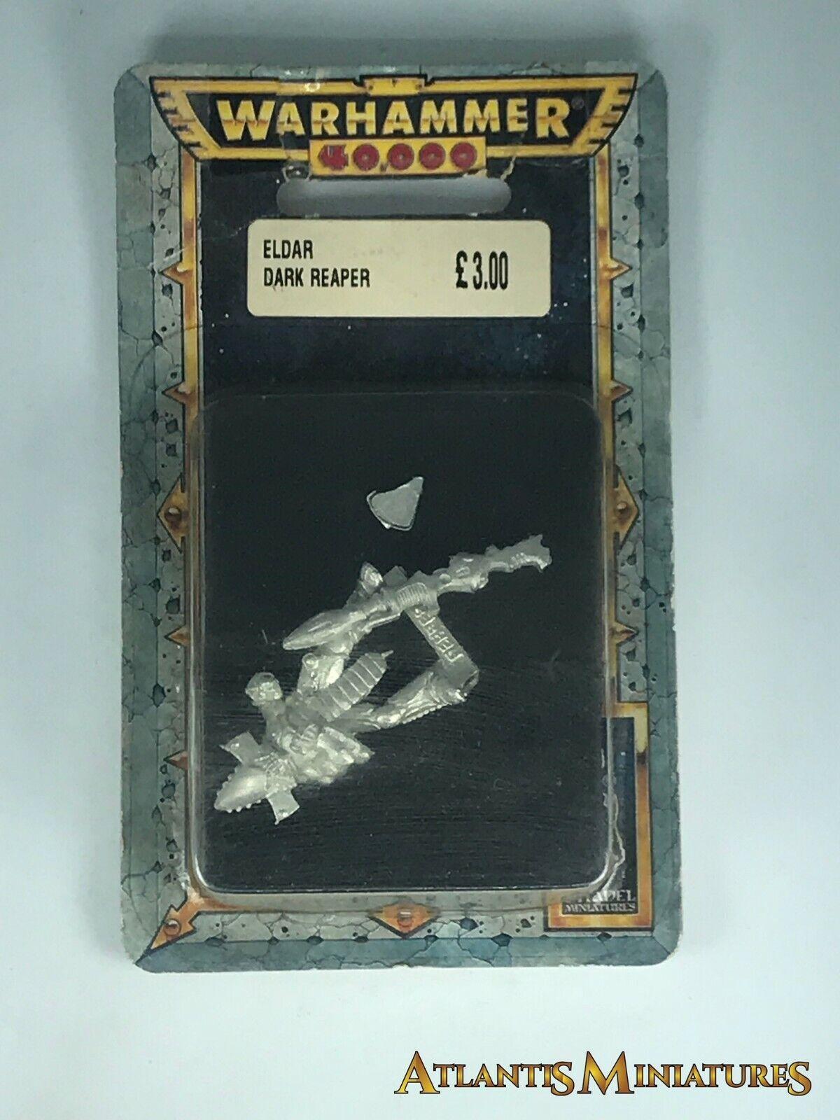 Metal Dark Dark Dark Eldar Reaper Blister - OOP -  Warhammer 40K CC171 262f07