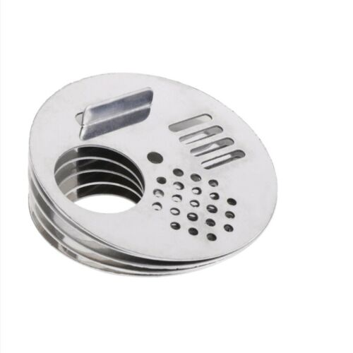 40pcs//pack Bee Beekeeper Tool Hive Nuc Box Entrance Gates New Stainless Steel