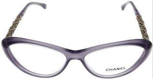 69ca9103ddc Image is loading Latest-Chanel-Prescription-Eyewear-Frame-Bijou-Lilac-Women-