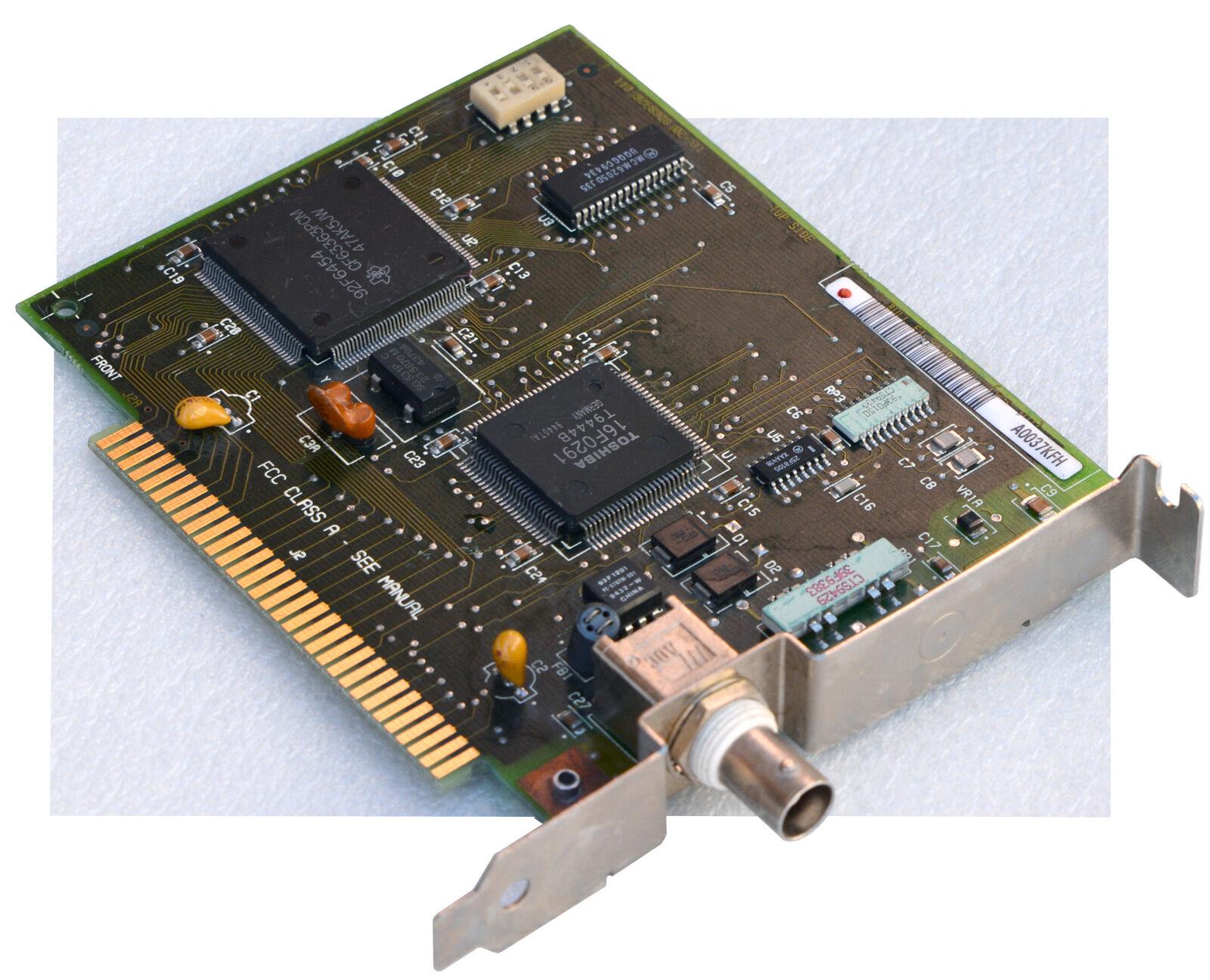 Vintage IBM BNC Isa 8-BIT Network Card Lan Card Toshiba 16F0291 Collector BNC-11