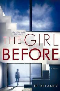 Image result for the girl before by j p delaney dust cover