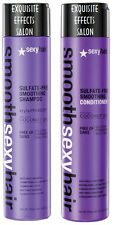 Smooth Sexy Hair Sulfate Free Smoothing Shampoo and Conditioner DUO 10.1 oz.