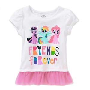 4afafa04a My Little Pony Toddler Girls Friends Forever Graphic T-Shirt 2T