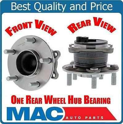 100% New Tested Wheel Bearing W Hub Assembly REAR for ...2014 Mazda 3 Wheel Stud