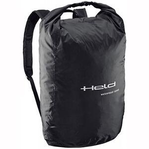 Held Rain Pouch Black Moto Motorcycle Waterproof Backpack / Helmet ...