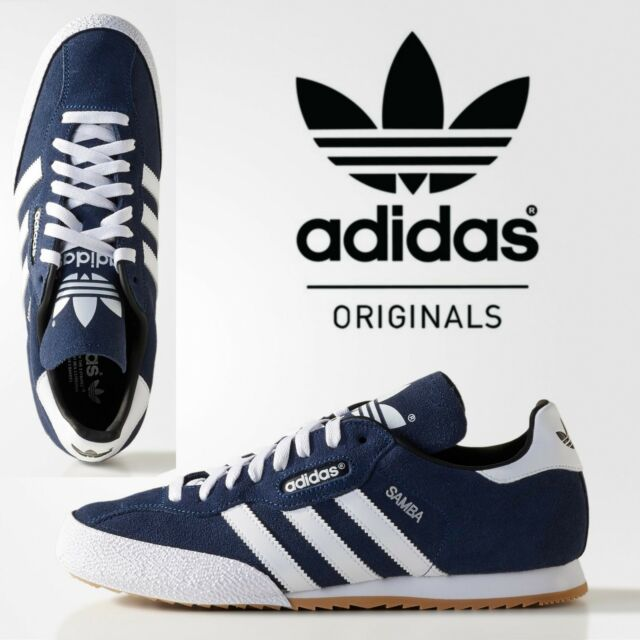 presenting detailed pictures sports shoes ✅24h DELIVERY✅adidas Originals Super Samba Suede Mens Trainers Retro