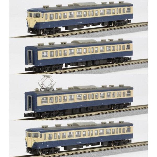 Rokuhan T003-1 Series 113 1500 Yokosuka 4 Coches Basic Set - Z
