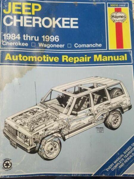 Haynes Complete Repair Manual 50010 Jeep Cherokee Wagoneer