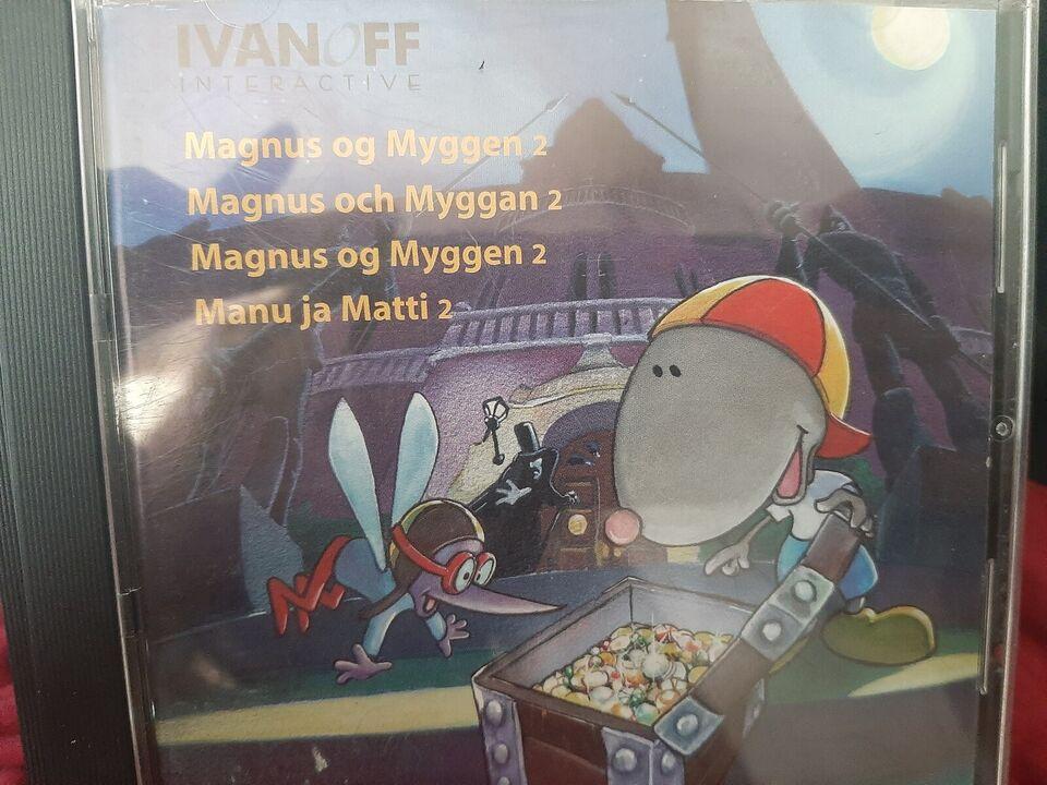 Magnus og myggen 2 den store skattejagt , til pc, anden genre