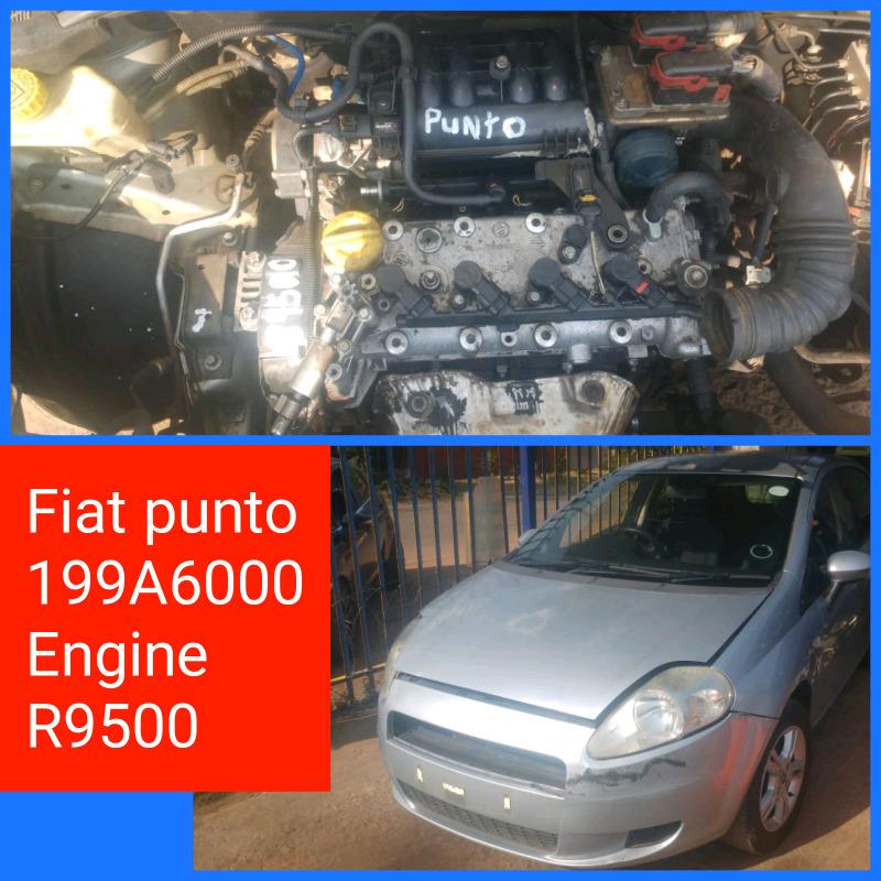 FIAT PUNTO 199A6000 ENGINE R9500