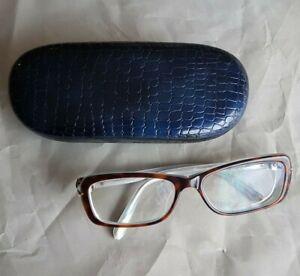 Tiffany-TF2026-A-8072-Brown-Blue-Prescription-Eyeglasses-Womens-Frame-53-16-135