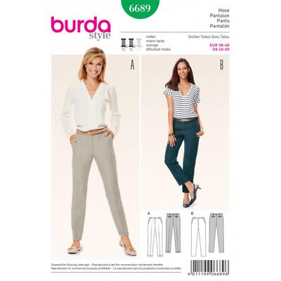 BURDA sewing pattern 6316 Pantalon 6-20