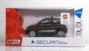 "METAL Scala 1:43 MondoMotors 53012 Alfa Romeo GIULIETTA /""CARABINIERI/"""