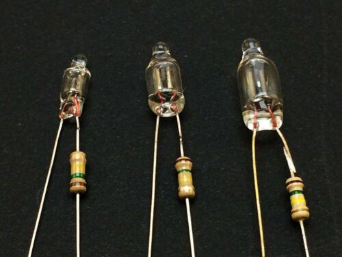 5x Neon Glimmlampe mit Vorwiderstand220-240 VRotNeon Indicator Lamp