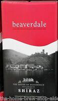 Beaverdale Wine Kit Shiraz - Home Brewing - 30 Bottle - 23 Ltrs 5g
