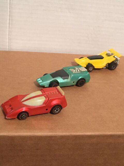 2-Mattel 1969 Hot Wheels Sizzlers Redline Car Toys 1- 1970